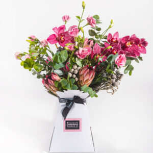 Protea & Cymbidium Bouquet