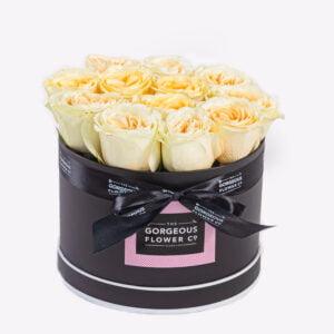 Cream Rose Hatbox